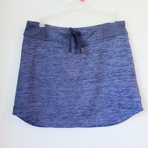 Athleta terry skirt size M